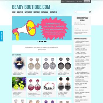 Beadyboutique.com thumbnail