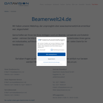 Beamerwelt24.de thumbnail