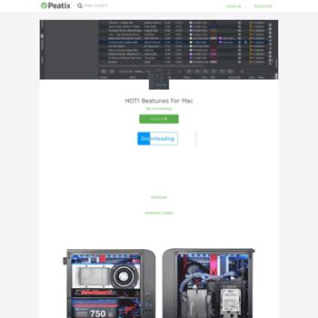 Веб сайт beatunes-for-mac-8.peatix.com