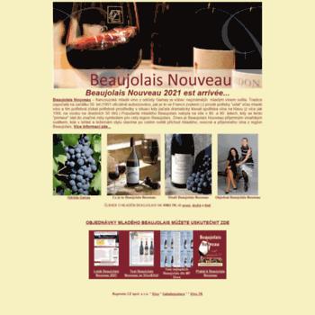 Beaujolais-nouveau.cz thumbnail