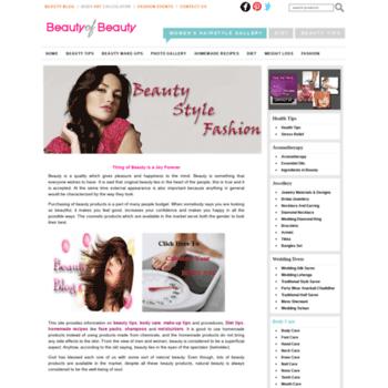 Beautyofbeauty.com thumbnail