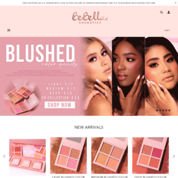 bebellacosmetics com at WI  BeBella Cosmetics