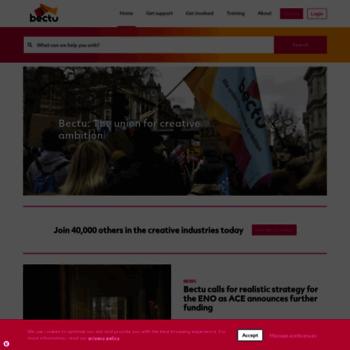 Bectu.org.uk thumbnail