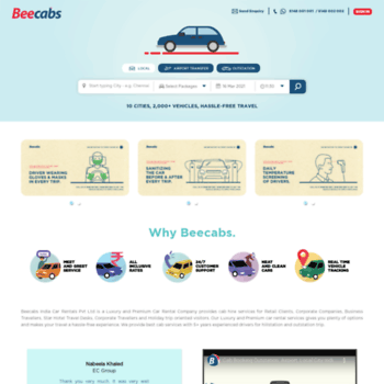 Beecabs.in thumbnail