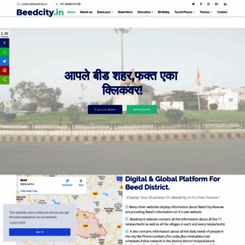 Beedcity.in thumbnail