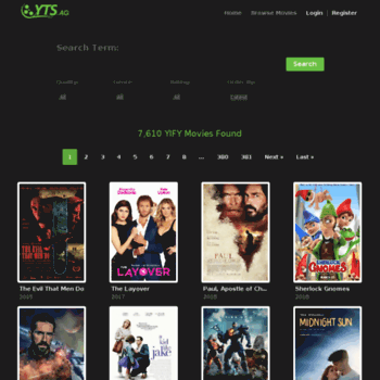 yifytorrents.com browse movies