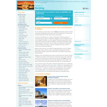 Beijinghotelchina.net thumbnail