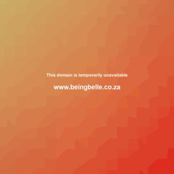 Beingbelle.co.za thumbnail