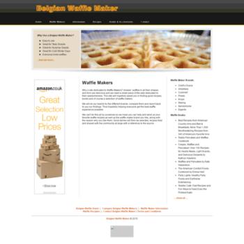 Belgian-waffle-maker.co.uk thumbnail