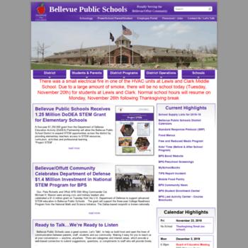 Bellevuepublicschools.org thumbnail
