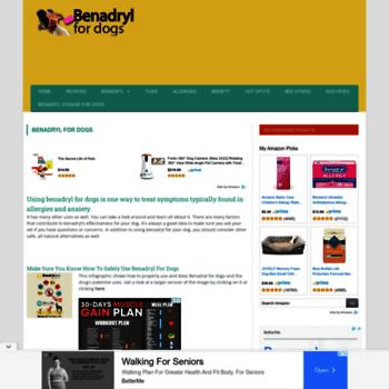 benadrylfordogs info at WI  Benadryl For Dogs|Benadryl
