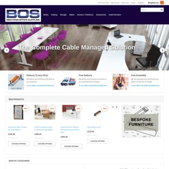Bentonsofficesupplies.co.uk thumbnail