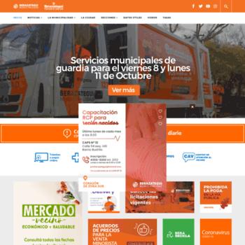 Berazategui.gov.ar thumbnail