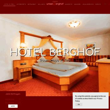 Berghof-tirol.at thumbnail
