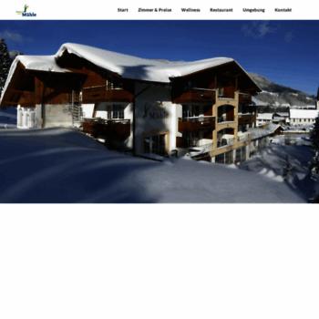 Berghotel-muehle.de thumbnail