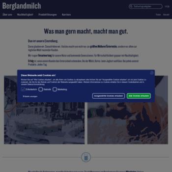 Berglandmilch.at thumbnail