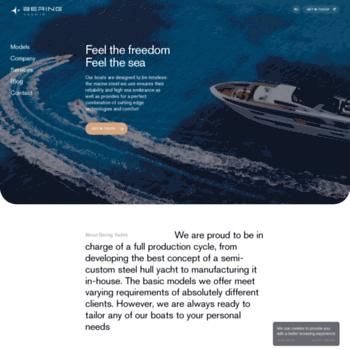 beringyachts com at WI  Steel Trawler Yacht | Semi-Custom