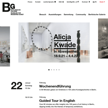 Berlinischegalerie.de thumbnail