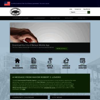Berwyn-il.gov thumbnail