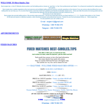 Best-singles.tips thumbnail