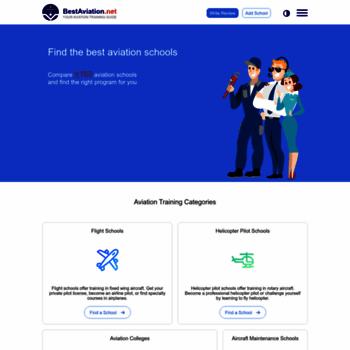 bestaviation net at WI  Best Aviation Schools - Compare