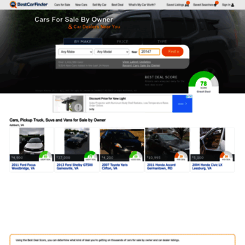 Bestcarfinder Com At Wi Cars For Sale By Owner Car Dealers Best