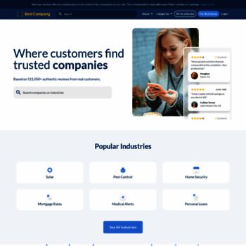 bestcompany com at WI  Real Customer Reviews   Best Company