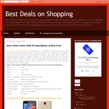 Bestdealsonshopping.in thumbnail