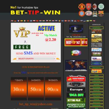 Bet Win Tips