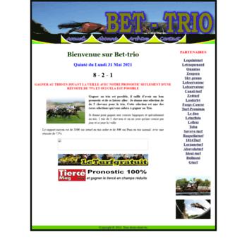 bet-trio siteturf net at Website Informer  Bet-trio  Visit