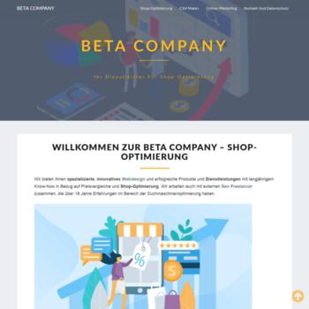 Beta-company.de thumbnail