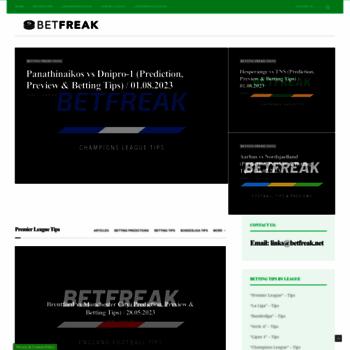 Betfreak.net thumbnail