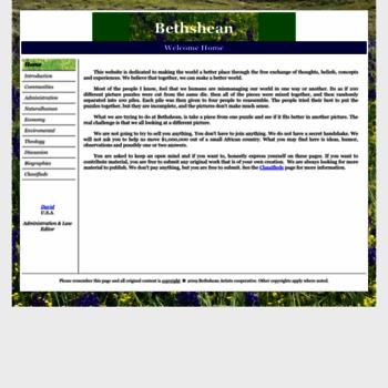 Bethshean.org thumbnail