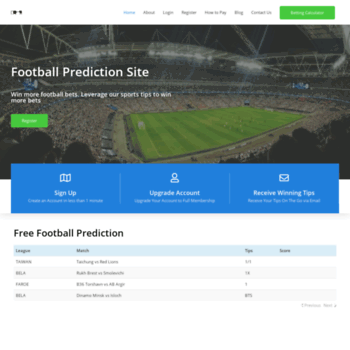 bettingwins24 com at WI  Best Football Prediction Site 2019