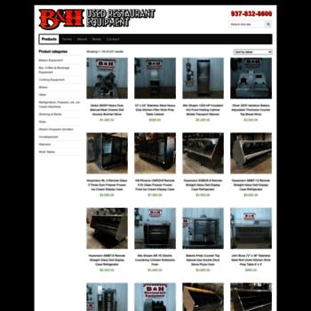 bhequip com at WI  B&H Restaurant Equipment | Used