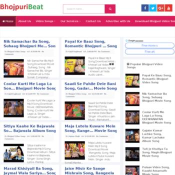 bhojpuribeat com at WI  Bhojpuri Video Songs, Bhojpuri HD