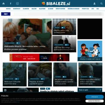 Bibaleze.si thumbnail