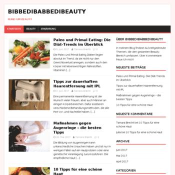 Bibbedibabbedibeauty.de thumbnail
