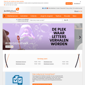 Bibliotheekhelmondpeel.nl thumbnail