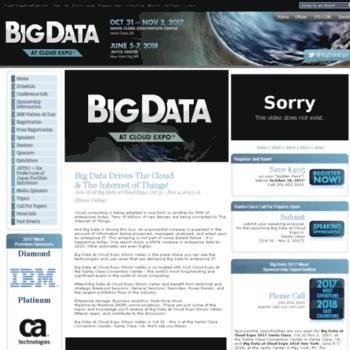 Bigdataexpo.net thumbnail