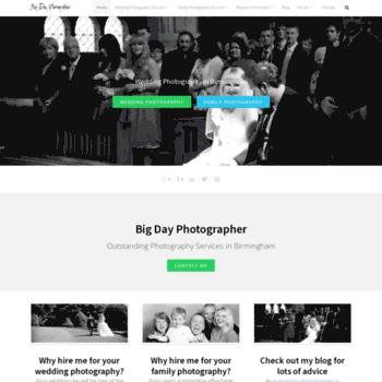 Bigdayphotographer.co.uk thumbnail