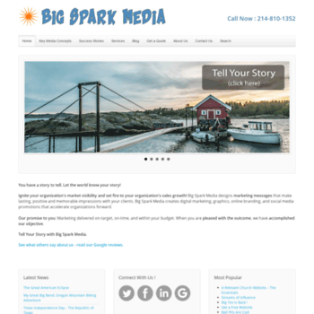 Bigsparkmedia.com thumbnail