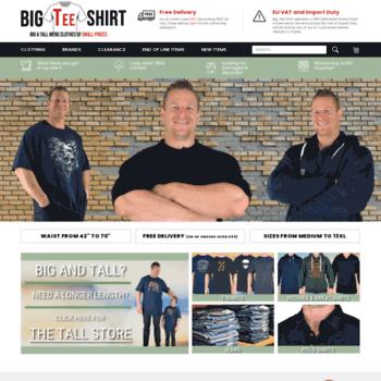Bigteeshirt.co.uk thumbnail