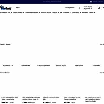 Bikeberry.com thumbnail