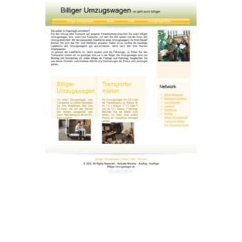 Billiger-umzugswagen.de thumbnail