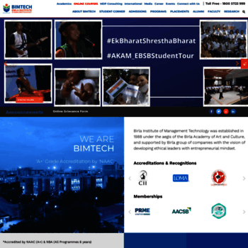 Bimtech.ac.in thumbnail
