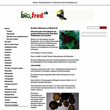 Biofred.ch thumbnail
