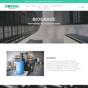 Biograde.ca thumbnail
