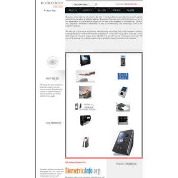 Biometricstech.com thumbnail