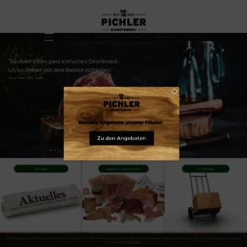 Biometzgerei-pichler.de thumbnail